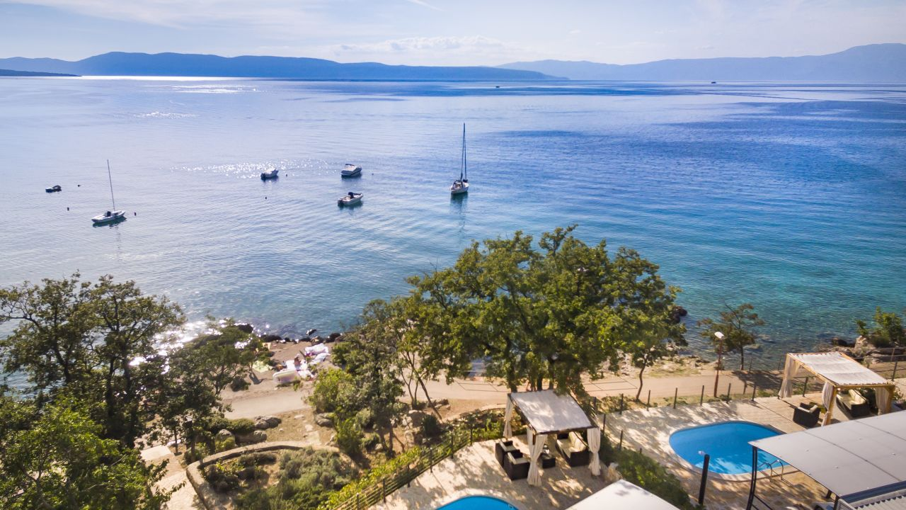 Ferienhaus Mit Pool Kroatien Last Minute Camping Bungalows Njivice Njivice Holidaycheck Kvarner