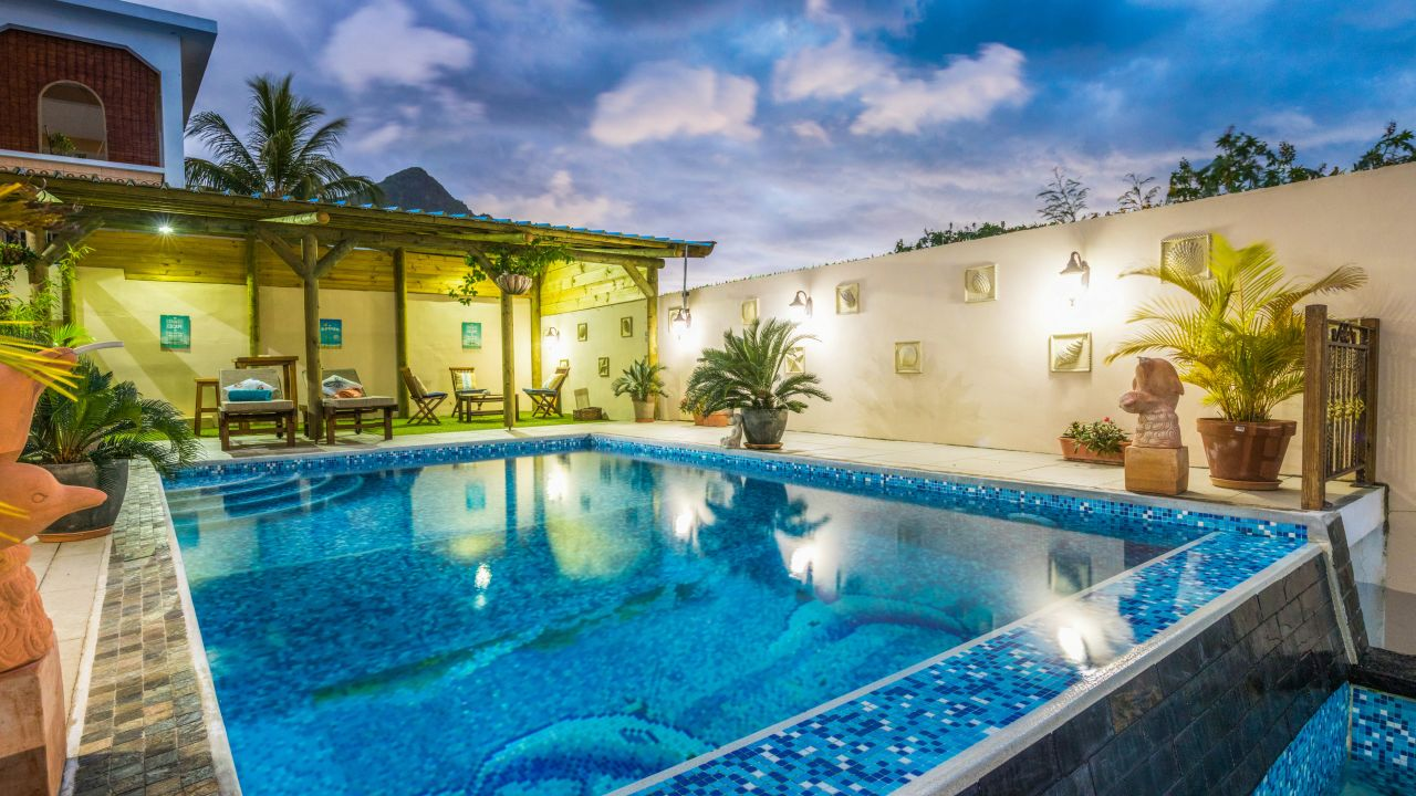 Badezimmer Blue Pearl The Blue Pearl Villa La Gaulette Holidaycheck Mauritius