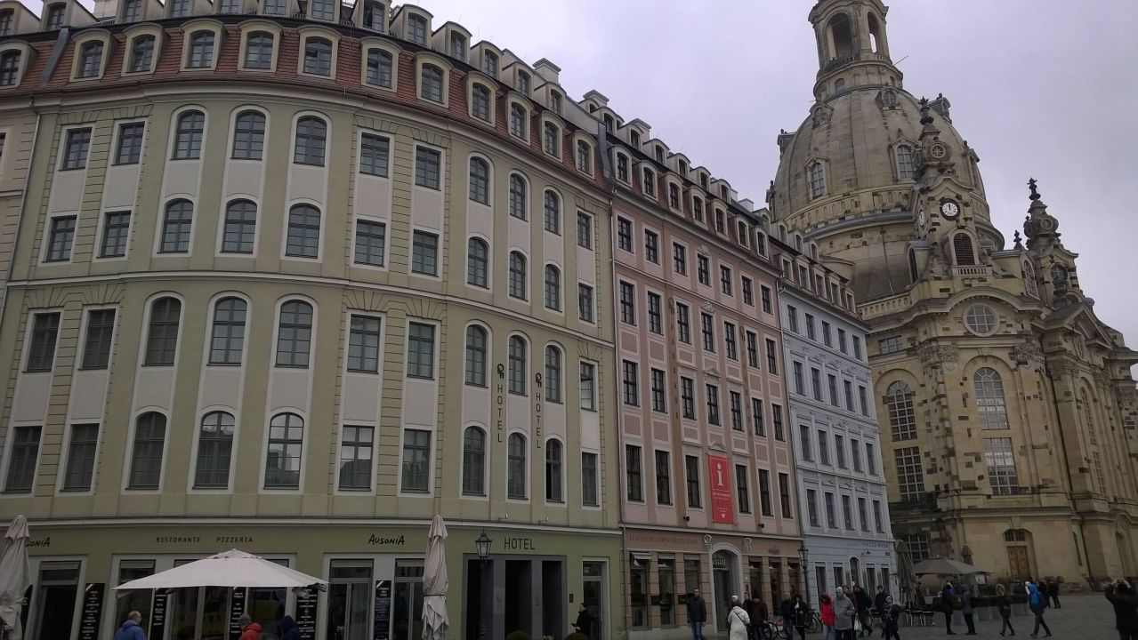 Qf Hotel Dresden Hotelfront