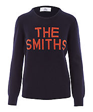 Smiths Shirts | Navy The Smiths Knitted Jumper