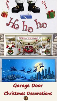 Garage Door Christmas Decorations | A Listly List