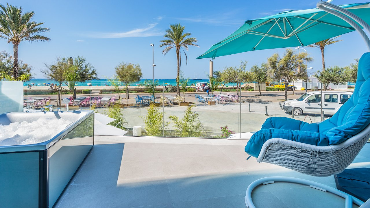 Verglaster Balkon The Hype Beach Hotel Palma De Mallorca Spanje Foto S Reviews