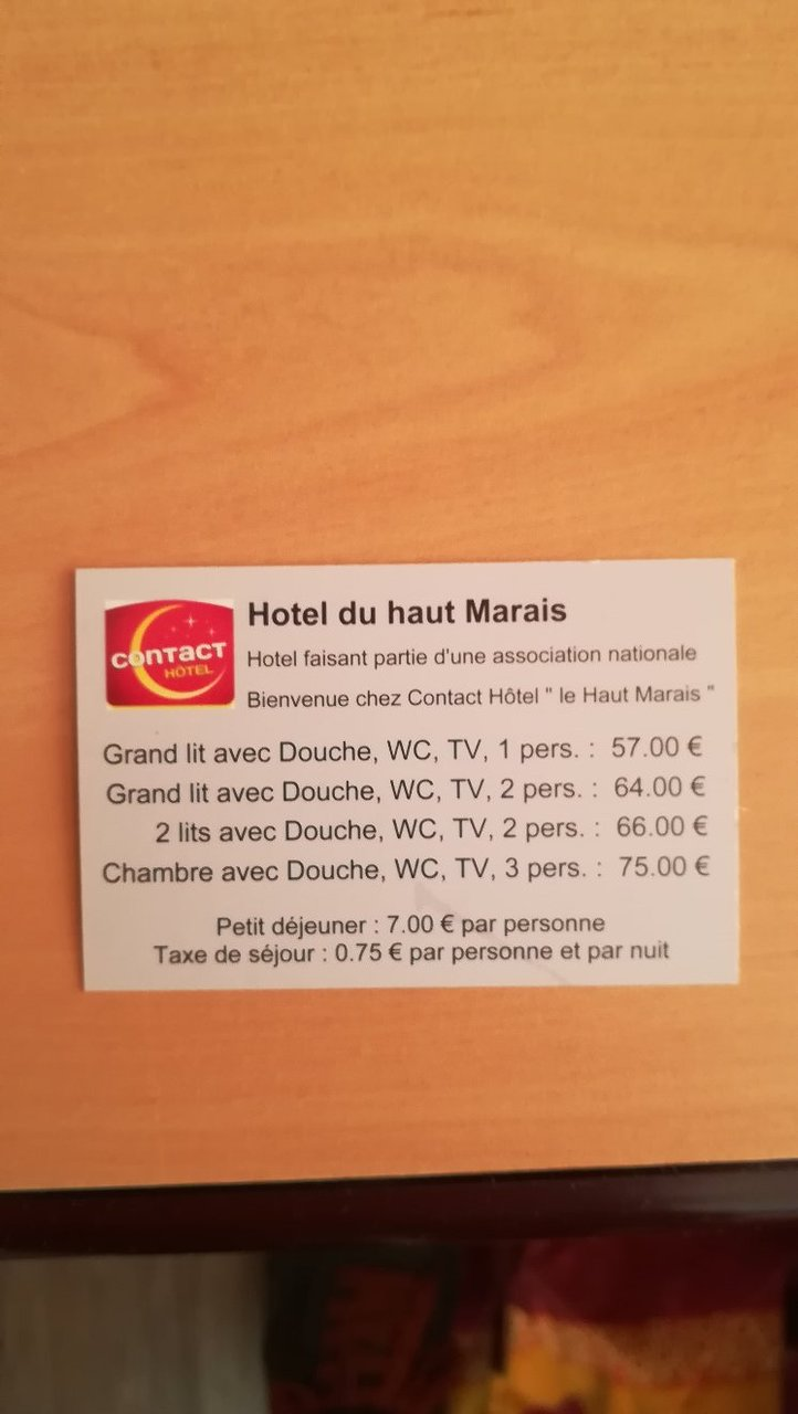 Lit 1 Pers Hotel Du Haut Marais Prices Reviews France Saint Marcel