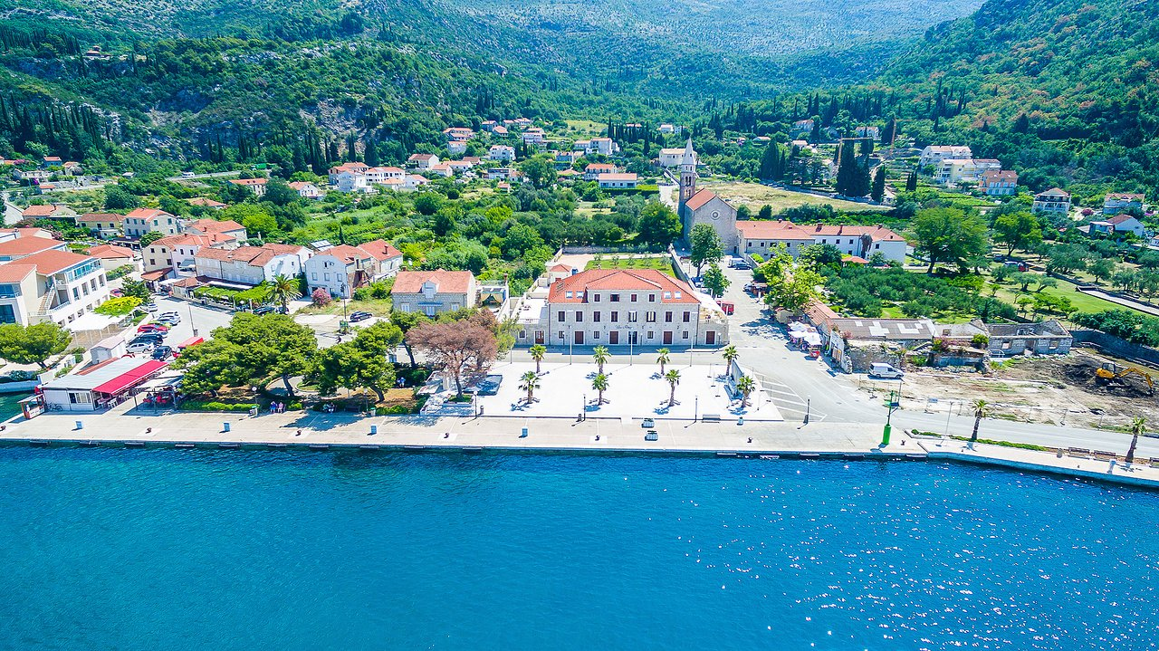 Zwembad Riva Vila Riva Apartments Slano Kroatië Foto S Reviews En
