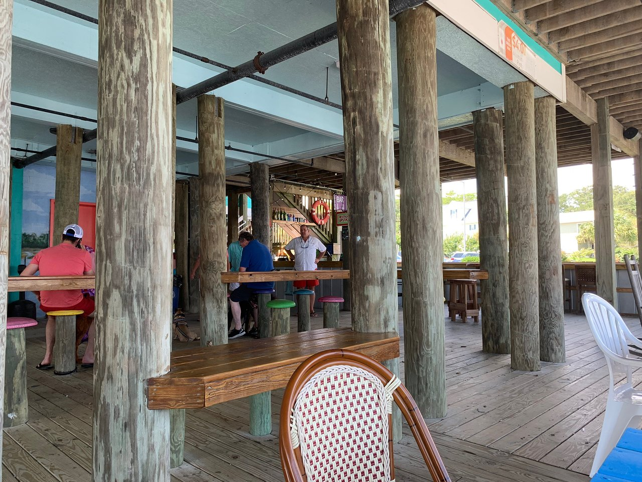 Inlet View Bar Grill Water View Picture Of Inlet View Bar And Grill Shallotte Tripadvisor