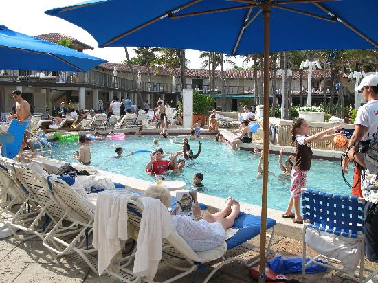 Beach Club Pool At 2pm Picture Of Boca Raton Resort A