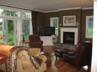 The living room, with French doors to patio - Picture of ...