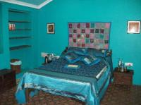 Turquoise bedroom - Picture of Casa Susegad, Loutolim ...