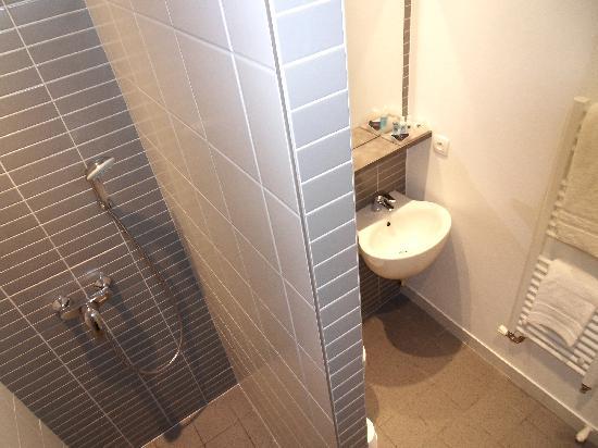 Hôtel des Cèdres à orléans - Salle de bain rénovée - Picture of