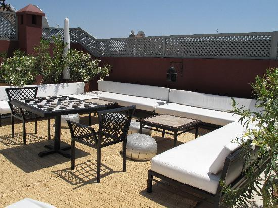 Sitzgruppe Terrasse Terrace Seating - Picture Of Riad Utopia Suites & Spa