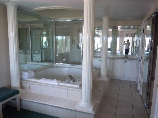 Nice master bathroom