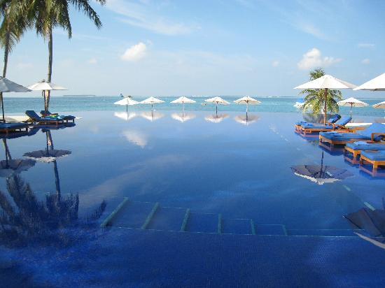 Conrad Rangali Islands  10 of the Weirdest and Most Wonderful Swimming Pools on Earth  the infinity pool