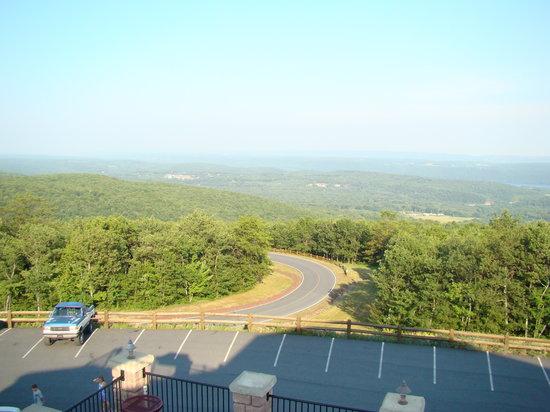 View from deck at Penn\u0027s Peak - Picture of Penn\u0027s Peak, Jim Thorpe