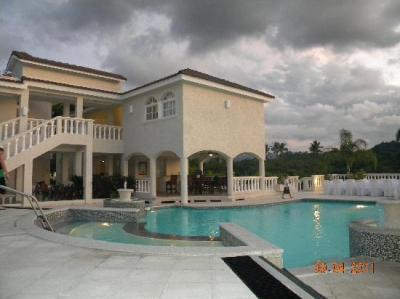 Second villa's backyard - Picture of The Crown Villas at ...