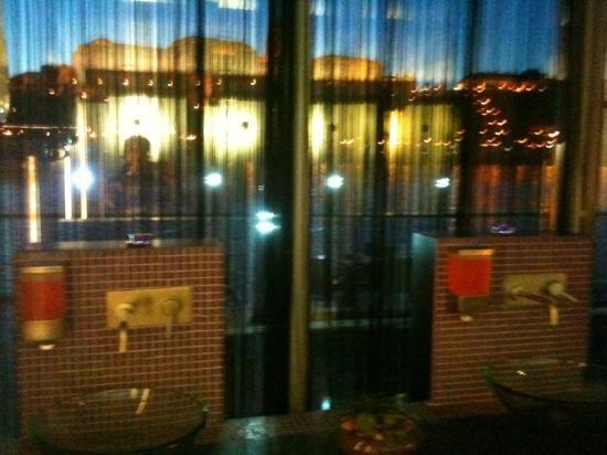 Blurry View From The Ladies39 Room Bild Von Spoon Cafe