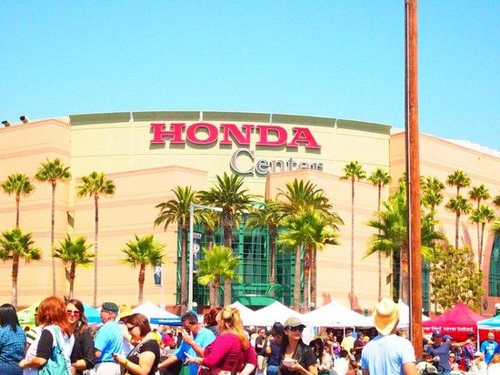 Location and parking are easy - Review of Honda Center, Anaheim, CA