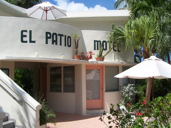Front Of Hotel Picture Of El Patio Motel Key West