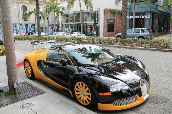 Dubai Police Car Wallpapers La Bugatti Picture Of Rodeo Drive Beverly Hills