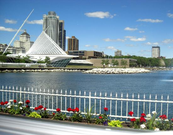 Patio And Calatrava Picture Of Harbor House Milwaukee