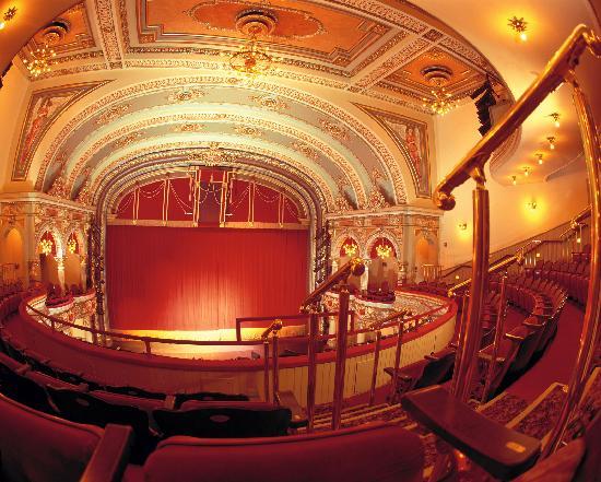 Beautiful interior of the Fulton Theatre - Picture of Fulton Theatre