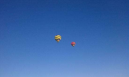 Balloons floating in the sky - Picture of Up  Away Ballooning