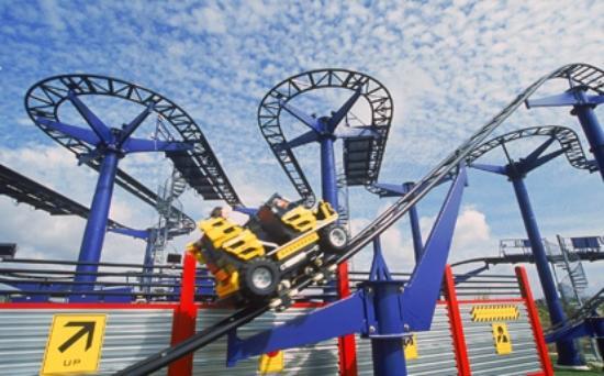 LEGO TECHNIC Coaster - Picture of LEGOLAND California, Carlsbad