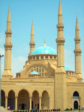 Taj Mahal Hd Wallpaper Mohammad Al Amin Mosque Beirut Lebanon Address
