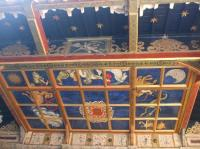 Stage ceiling - Picture of Shakespeare's Globe Theatre ...