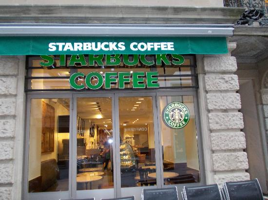 Bed Breakfast Milano Starbucks Coffee Shop, Zurich - Restaurant Reviews