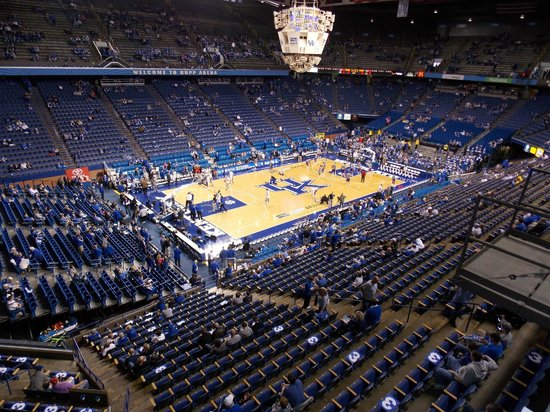 From our seats - Picture of Rupp Arena, Lexington - TripAdvisor