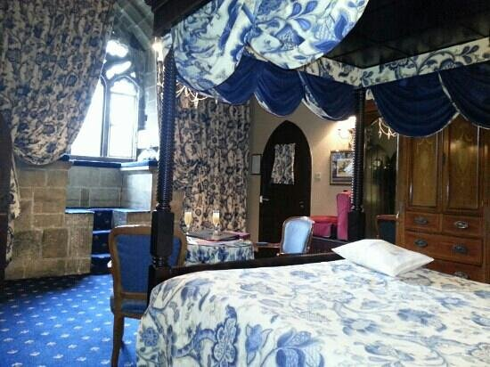 Castle Room Picture Of Langley Castle Hotel Langley On