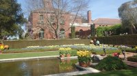 Filoli Mansion from the water garden - Picture of Woodside ...