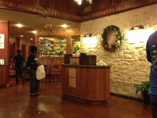 Restaurant entrance and hostess station - Picture of Cedar Tree