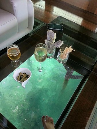 Glass Bottom Floor Very Romantic Picture Of Gayana Eco
