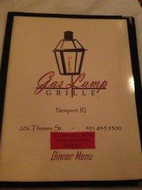 Menu - Picture of The Gas Lamp Grille, Newport - TripAdvisor