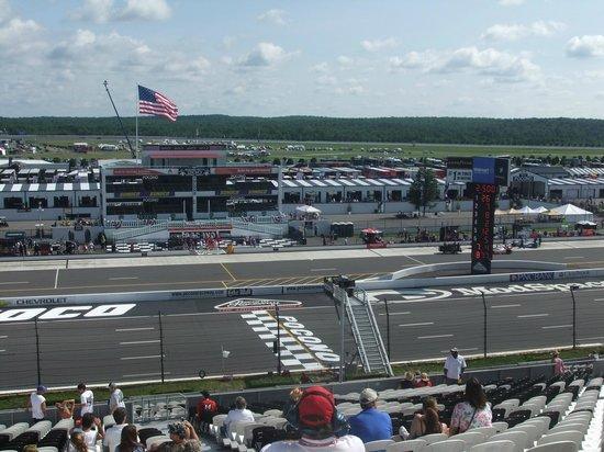 Track View - Picture of Pocono Raceway, Long Pond - TripAdvisor