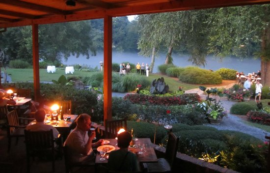 Outdoor Dining And Grounds Picture Of Canoe Atlanta