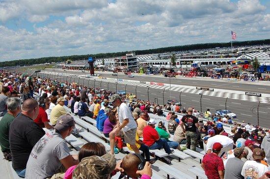 Terrace Vista Seat View - Picture of Pocono Raceway, Long Pond