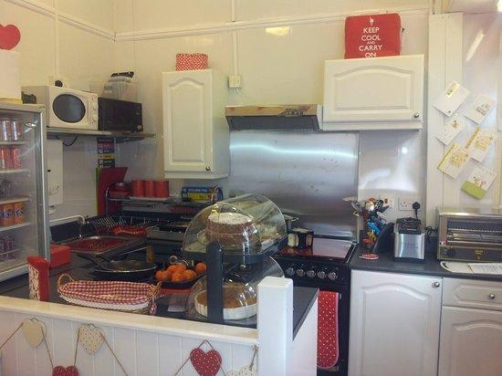 Inside of Katie's Kitchen