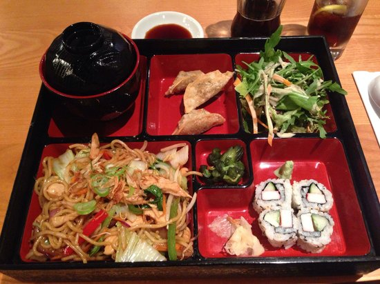 Delicious Bento Box At Yakitori Picture Of Yakitori 1