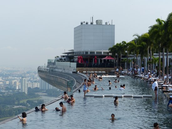 Infinity pool at marina bay sands picture of marina bay