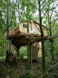 The toilet window :-) - Picture of Living-Room Treehouses ...