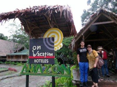 Entrada del hotel. - Picture of On Vacation Amazon, Leticia - TripAdvisor