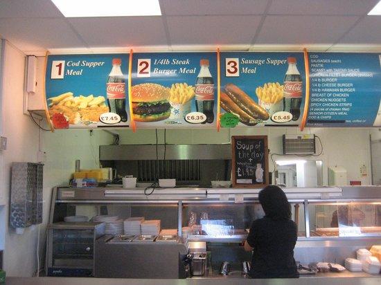 Other half of menu - Picture of Cafe Cod, Bangor - TripAdvisor