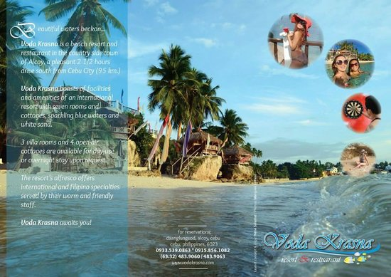 Resort Brochure - Picture of Voda Krasna Resort  Restaurant, Alcoy