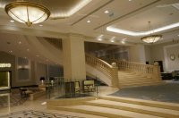 Grand staircase in the lobby. - Picture of JW Marriott ...