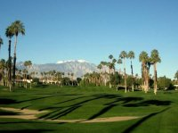 view from the patio - Picture of Palm Desert Country Club ...