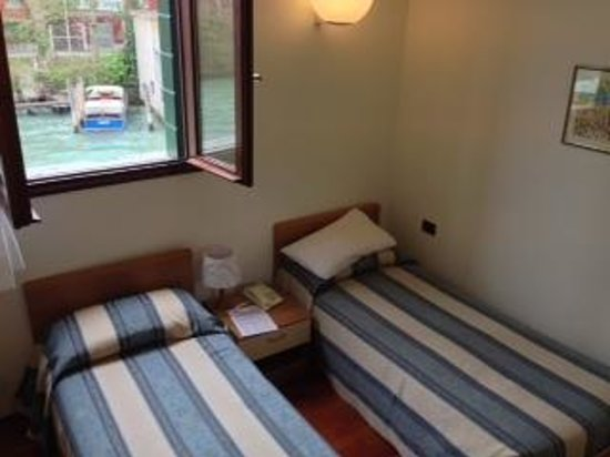 Small Single Beds For Small Rooms Small Room, With 2 Single Beds, Overlooking The Canal