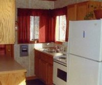Full Kitchenette - Picture of Coleman's Resort, Tawas City ...