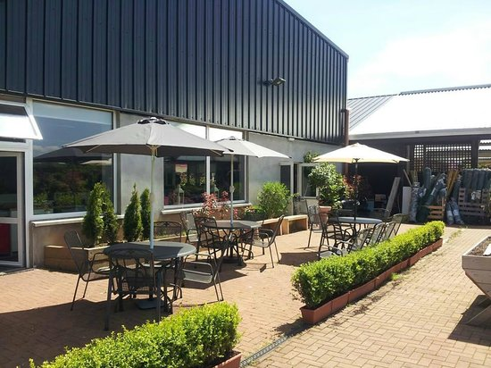Patio Area Picture Of The Bay Leaf Restaurant Castlebar